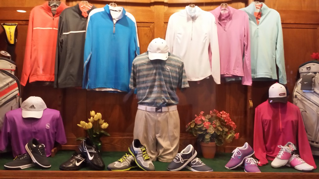 pro shop, golf apparel, golf supplies
