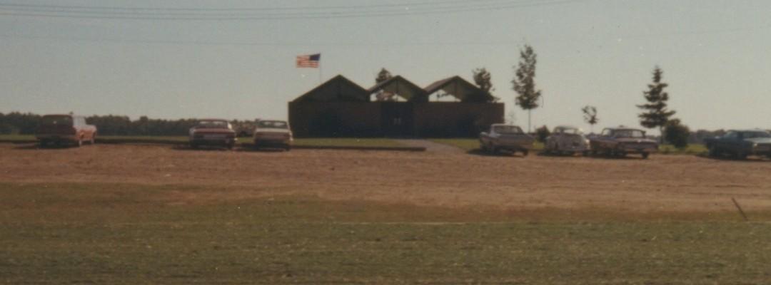 Grand Rapids Saskatoon Golf Club 1964 clubhouse